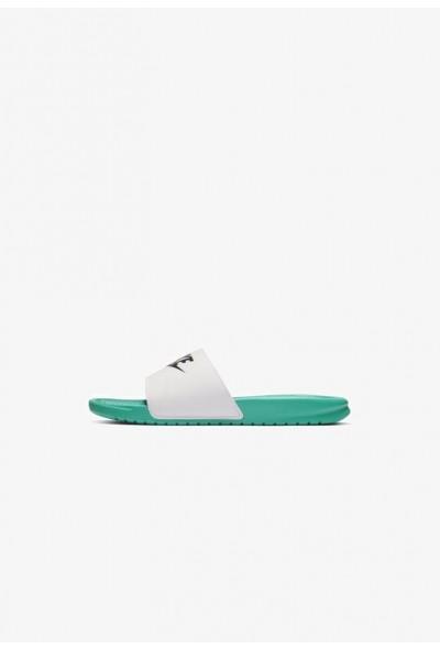 Nike BENASSI JDI - Sandales de bain mint/white/black