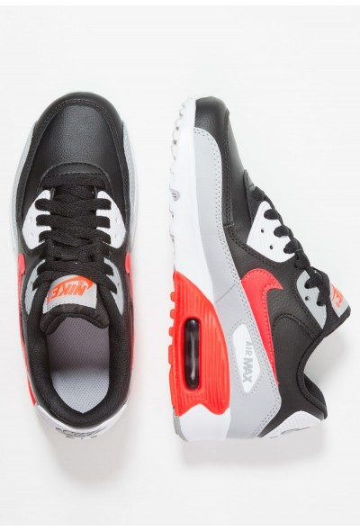 Nike AIR MAX 90  - Baskets basses wolf grey/bright crimson/black/white