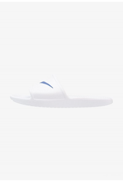 Nike KAWA SHOWER - Sandales de bain white/blue moon