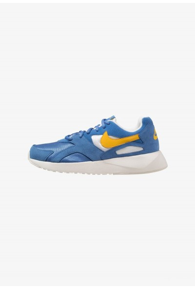 Nike PANTHEOS - Baskets basses mountain blue/yellow ochre/sail
