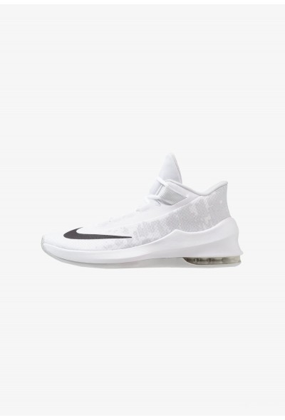 Black Friday 2019 - Nike AIR MAX INFURIATE 2 MID - Chaussures de basket white/black/pure platinum