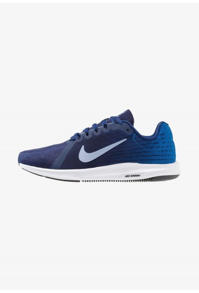 Nike DOWNSHIFTER 8 - Chaussures de running neutres blue void/indigo fog/photo blue/red orbit/black/white