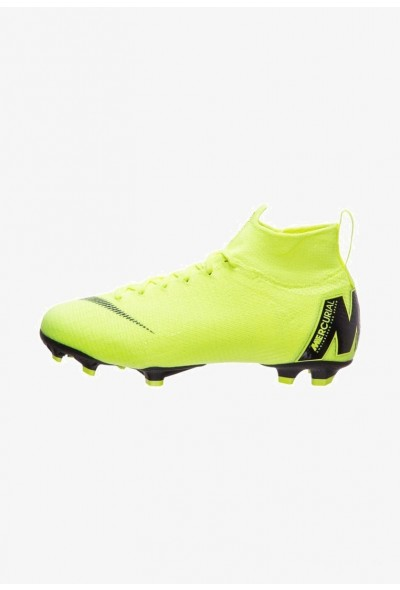 Nike Chaussures de foot à crampons neon yellow
