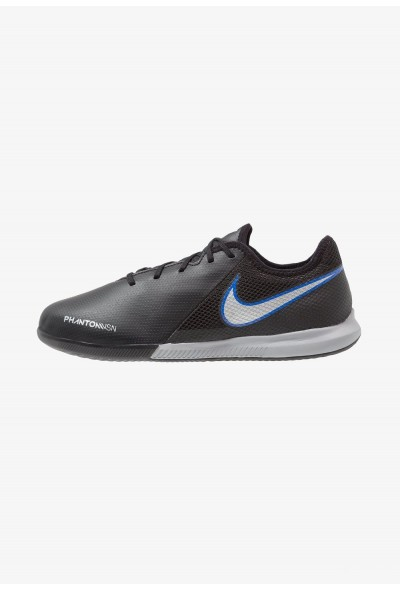 Nike PHANTOM OBRAX 3 GATO IC - Chaussures de foot en salle black/metallic silver/racer blue