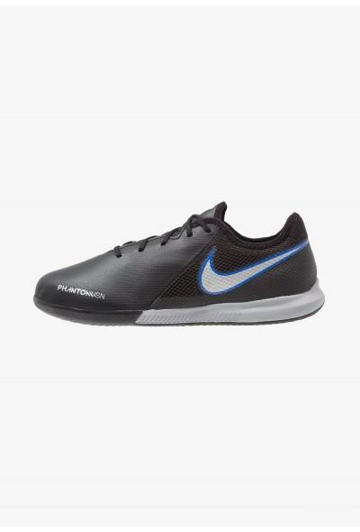 Nike PHANTOM OBRAX 3 GATO IC - Chaussures de foot en salle black/metallic silver/racer blue
