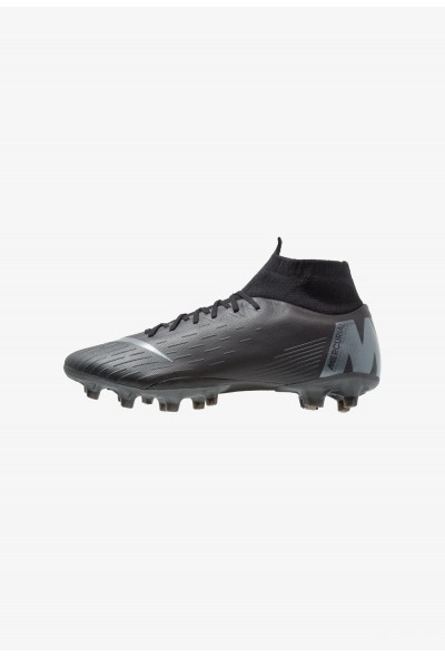 Nike MERCURIAL 6 PRO AG PRO - Chaussures de foot à crampons black/anthracite/light crimson