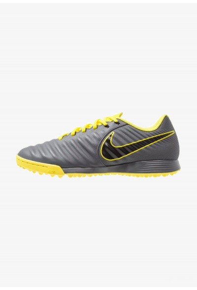 Nike LEGENDX 7 ACADEMY TF - Chaussures de foot multicrampons dark grey/black/optimal yellow