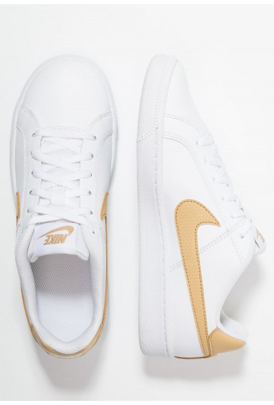 Nike COURT ROYALE  - Baskets basses white/club gold