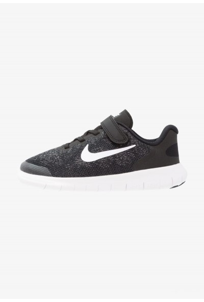 Nike FREE 2 - Chaussures de course neutres black/white/dark grey/anthracite