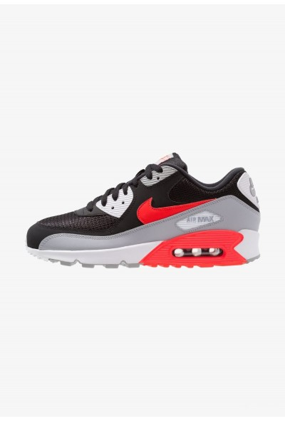 Nike AIR MAX 90 ESSENTIAL - Baskets basses wolf grey/bright crimson/black/white