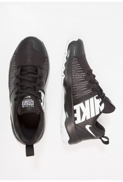Black Friday 2019 - Nike TEAM HUSTLE QUICK - Chaussures de basket black/white