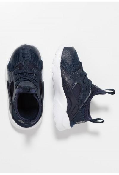 Nike HUARACHE RUN ULTRA  - Chaussures premiers pas obsidian/white