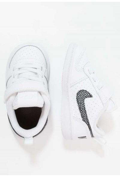 Nike COURT BOROUGH  - Chaussures premiers pas white/black