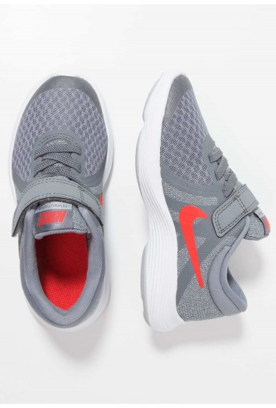Nike REVOLUTION 4 - Chaussures de running neutres cool grey/habanero red/wolf grey/white