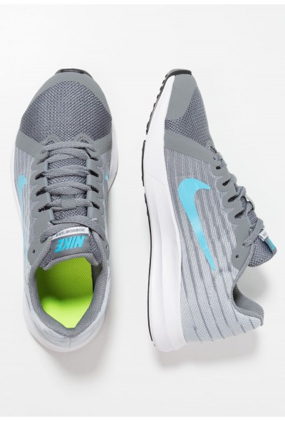 Black Friday 2019 - Nike DOWNSHIFTER  - Chaussures de running neutres cool grey/blue fury/pure platinum/white