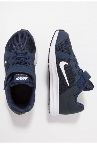 Nike DOWNSHIFTER 8 - Chaussures de running neutres midnight navy/white/dark obsidian/black