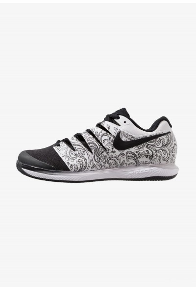 Nike AIR ZOOM VAPOR X CLAY - Chaussures de tennis sur terre battue white/black