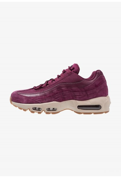 Nike AIR MAX 95 SE - Baskets basses bordeaux/desert sand/black