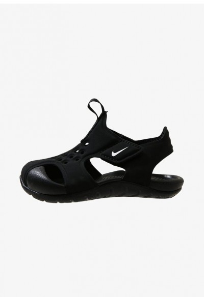 Black Friday 2019 - Nike SUNRAY PROTECT 2 - Sandales de bain black/white