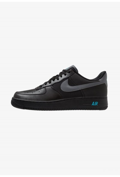 Nike AIR FORCE 1 '07 LV8 - Baskets basses black/cool grey/blue