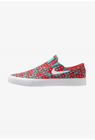 Nike ZOOM JANOSKI - Mocassins cabana/white/desert ore/university red/light brown
