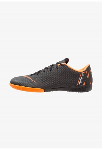 Nike MERCURIAL VAPORX 12 ACADEMY IC - Chaussures de foot en salle black/total orange/white