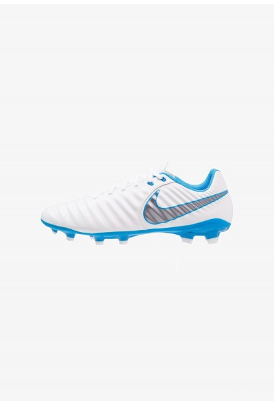 Nike LEGEND 7 ACADEMY FG - Chaussures de foot à crampons white/chrome/blue hero