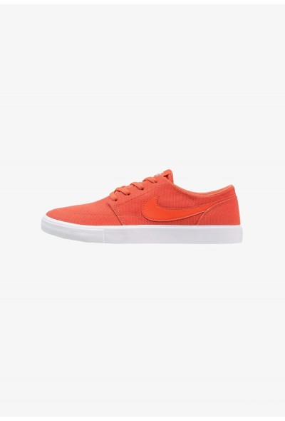 Nike PORTMORE II SS CNVS - Baskets basses vintage coral/ivory