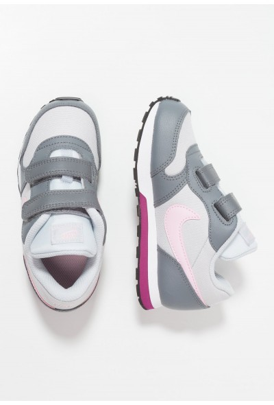 Nike MD RUNNER 2  - Chaussures premiers pas pure platinum/pink foam/cool grey/true berry