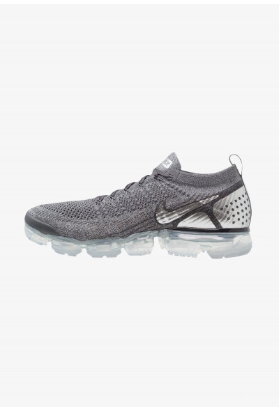 Nike AIR VAPORMAX FLYKNIT - Chaussures de running neutres dark grey/chrome/cool grey/wolf grey