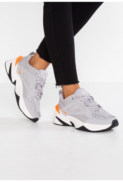 Nike M2K TEKNO - Baskets basses atmosphere grey/phantom/total orange/black