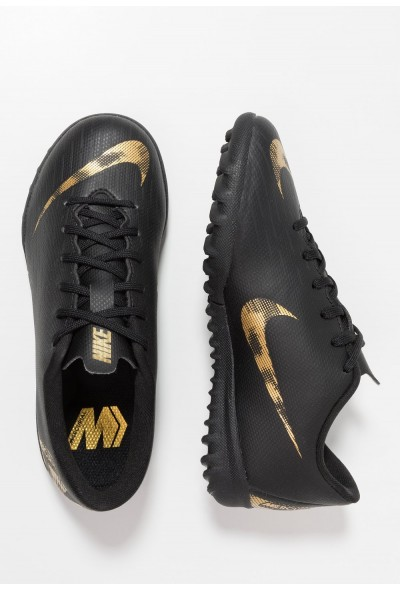 Nike MERCURIAL VAPORX  - Chaussures de foot multicrampons black/metallic vivid gold