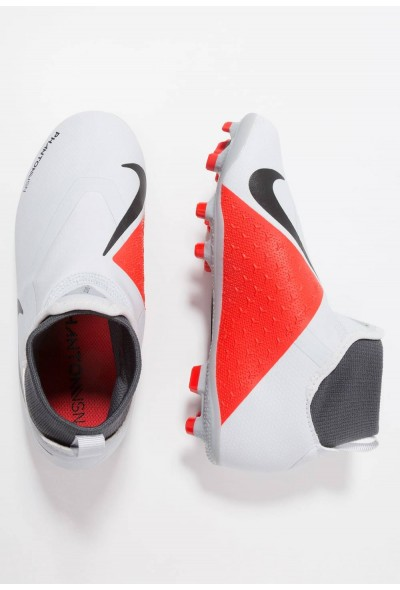 Nike Chaussures de foot à crampons wolf grey/metallic dark grey/dark grey/light crimson/pure platinum