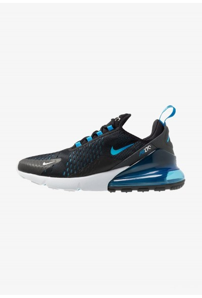 Nike AIR MAX 270 - Baskets basses black/photo blue/blue fury/pure platinum/anthracite/white