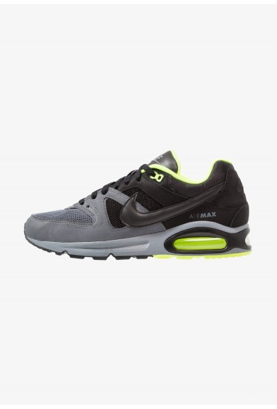 Nike AIR MAX COMMAND - Baskets basses cool grey/black/dark grey/volt