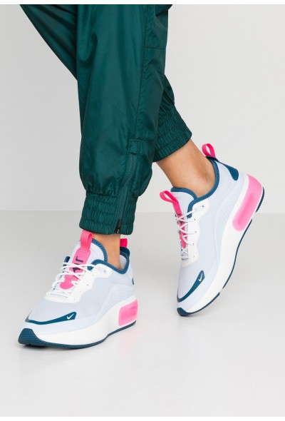 Black Friday 2019 - Nike AIR MAX DIA - Baskets basses half blue/summit white/blue force/hyper pink