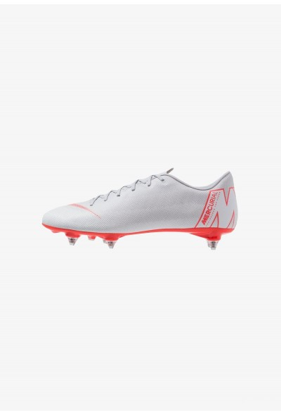 Nike MERCURIAL VAPOR 12 ACADEMY SG PRO - Chaussures de foot à lamelles wolf grey/light crimson/pure platinum/metallic silver