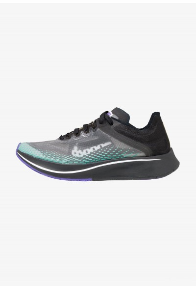 Nike ARTIST ZOOM FLY SP FAST - Chaussures de running neutres black/white/hyper jade/hyper grape/amarillo