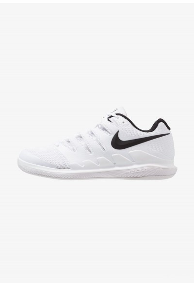 Nike AIR ZOOM VAPOR X CPT - Chaussures de tennis en salle white/black/vast grey
