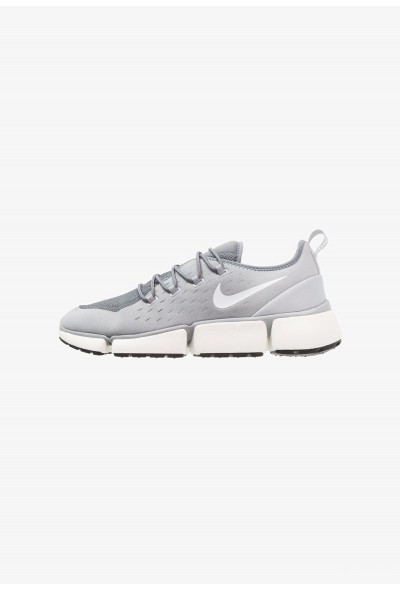Nike POCKET FLY - Baskets basses wolf grey/white/cool grey/sail/black