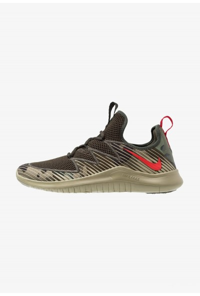 Nike FREE TR ULTRA - Chaussures d'entraînement et de fitness neutral olive/university red/sequoia/black