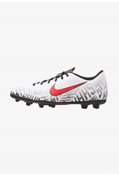 Nike MERCURIAL VAPOR 12 CLUB NJR MG - Chaussures de foot à crampons white/challenge red/black