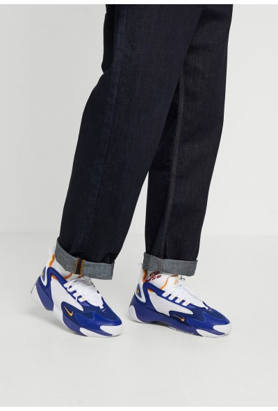 Nike ZOOM 2K - Baskets basses deep royal blue/orange peel/white
