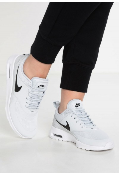 Nike AIR MAX THEA - Baskets basses pure platinum/black/white