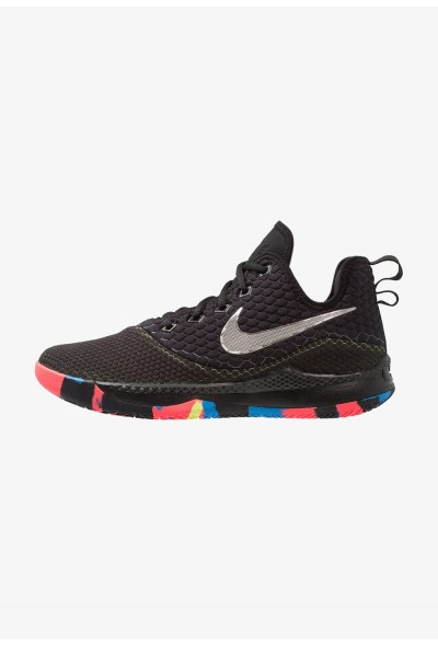 Black Friday 2019 - Nike LEBRON WITNESS III - Chaussures de basket black/chrome/cool grey/volt/photo blue/bright crimson