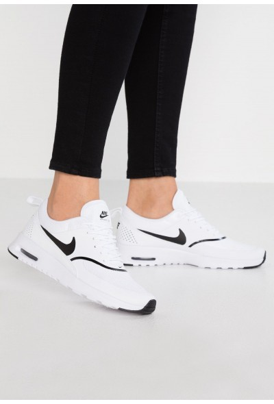 Nike AIR MAX THEA - Baskets basses white/black