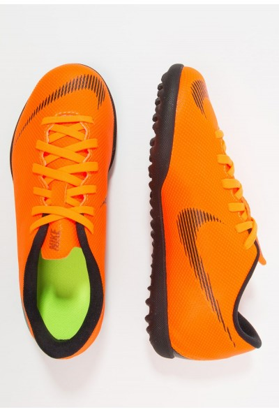 Nike MERCURIAL VAPORX 12 CLUB TF - Chaussures de foot multicrampons total orange/white/volt/black