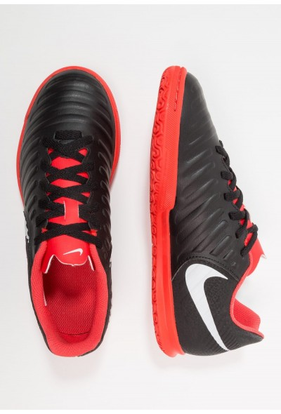 Nike TIEMPO LEGENDX 7 CLUB IC - Chaussures de foot en salle black/pure platinum/light crimson
