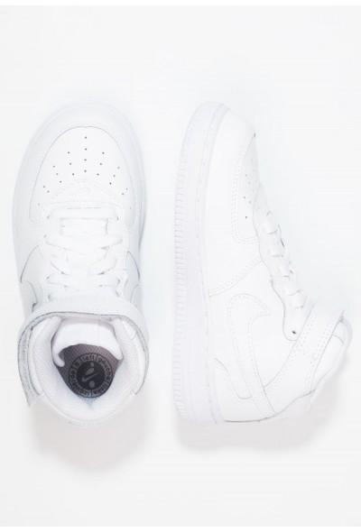 Nike NIKE FORCE 1 MID (TD) - Baskets montantes white