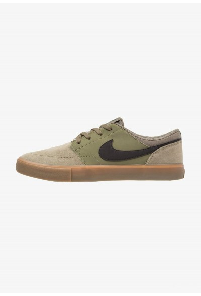 Nike SOLARSOFT PORTMORE  - Baskets basses medium olive/black/medium brown